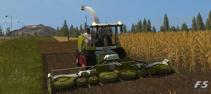 Farming Simulator 2017 mód